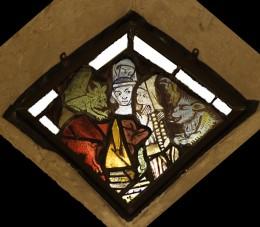 Fig. 1.Warning against idle Gossip, Church of St Nicholas, Stanford-on-Avon. © Gordon Plumb.