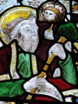 Fig. 13. Christ child's head in nVI. ©York Glaziers Trust.