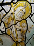 Fig. 15. Detail of St George. ©York Glaziers Trust