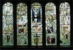 Fig. 18. East window of St Anthony's Church, Cartmel Fell.