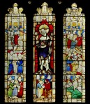 Fig. 19. Montage of of the Seven Sacraments panels at Cadbury and Doddiscombsleigh. ©C. B. Newham.