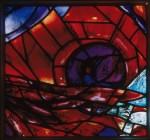 Fig. 2. Marc Chagall and Studio Simon Marq Reims, 'Zabulon's Tribe', trial stained glass for the synagogue of the Hadassah Ein Kerem Hospital, 1960, private collection. Copyright: Gérard Blot, RMN, Paris - © ProLitteris Zurich
