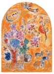 Fig. 5. Marc Chagall, 'Joseph's Tribe', definitive dummy for the synagogue of the Hadassah Ein Kerem Hospital, 1959–60, private collection. Copyright: Archives Marc and Ida Chagall, Paris - © ProLitteris Zurich