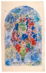 Fig. 6. Marc Chagall, 'Peace or Tree of Life', definitive dummy for Sarrebourg, 1976, National Museum of Modern Art - Centre Pompidou, Paris. Copyright: Archives Marc and Ida Chagall, Paris - © ProLitteris Zurich