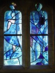 Fig. 9. A Chagall window at All Saints, Tudeley (Kent). Copyright: Philip French, 2003-2005