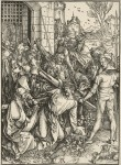 Albrecht Dürer (1471–1528), 'Christ carries his Cross', no. 7 from the Large Passion, c.1498/99, woodcut, 391 x 283 mm, Städel Museum, Frankfurt am Main. Photo: Peter McClennan