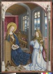 Fig. 4. Master of Liesborn, 'The Annunciation'. The National Gallery, London