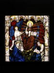'Christ in Majesty': panel 2j from the Great East Window, York Minster