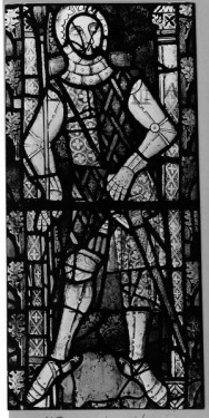 Hugh II Despenser (ex. 1326), NIV, north choir clerestory, Tewkesbury Abbey