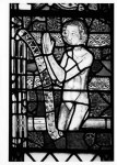 Fig. 1. Donor panel: panel EI 2e from the choir clerestory, Tewkesbury Abbey