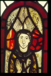 Fig. 7. St Michael, Dalbury (Derbyshire), possibly the oldest in situ glass in Britain