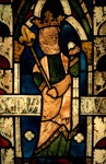 Fig. 13. Panel of glass from the chapter house vestibule, York Minster