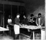 Fig. 1. The York glazing workshop, c. 1914