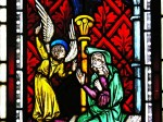 Fig. 8. Detail from the Annunciation, Austrian (Styria), c.1350–55. ©YM