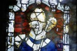 Fig. 2. Wiggenhall St Mary Magdalene: tracery-light saints in nVII