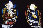 Fig. 3. Wiggenhall St Mary Magdalene: tracery-light saints in nVII.