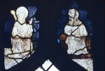 Fig. 4. Wiggenhall St Mary Magdalene: tracery-light saints in nVI.