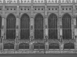 Fig. 1. Exterior of King's College Chapel, Cambridge.