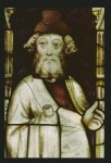 Fig. 2. The prophet Ezekiel, by Thomas of Oxford, from Winchester College Chapel, c.1393