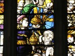 Fig. 3. Window 4, detail of the Adoration of the Magi attributed to James Nicholson