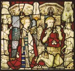 One of the donor panels from the St William Window.