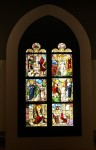 Reconstructed window from Mariawald Abbey.