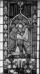 Fig. 2. Detail of the von Eschenbach window: the kneeling 'donor'.