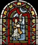 Fig. 5. Moses receiving the Ten Commandments.