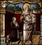 Fig. 5. Heinrich Kretzgens of Morsbach and his patron St John the Baptist