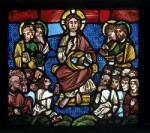 Fig. 1. Christ Feeding the Five Thousand, Troyes, c.1170–80. ©V&A Images/Victoria and Albert Museum