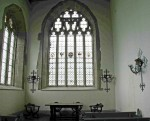 Fig. 4. The east window of Hampton Court chapel today