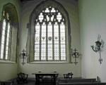 Fig. 4. The east window of Hampton Court chapel today