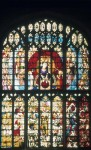 Fig. 8. Fairford parish church, Gloucestershire, west window: the Last Judgment