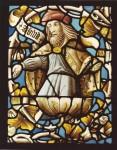 Fig. 12. Abiud from the Tree of Jesse window