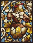Fig. 13. Another figure from the Tree of Jesse window