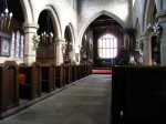 Fig. 14. Wragby Church: interior looking east