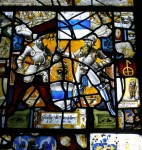 Fig. 20. Wragby Church: detail of window nVIII