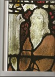 Fig 1. Detail of stained glass from the Sainte Chapelle, Bourges, designed by André Beauneveu(?): Apostle, c.1395–1400. © Paul Hoberton Publishing