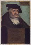 Fig. 2. Frederick III (1463–1525) Elector of Saxony (painted 1533), attributed to Lucas Cranach the Elder
