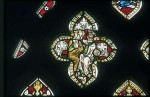 Fig. 1. Church of the Assumption of St Mary the Virgin, Beckley, Oxfordshire, east window: Coronation of the Virgin.