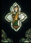Fig. 2. Church of the Assumption of St Mary the Virgin, Beckley, Oxfordshire, east window: St Edmund