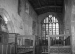 Interior of Haddon Hall chapel looking east