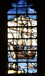 King's College Chapel, Cambridge, window 23: St Paul's ship