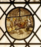 Fig. 2. Malpas, St Oswald's church: the affected panel before it was damaged