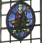 St Michael's church, Stanton Harcourt (Oxfordshire): bishop or mitred abbot, mid-thirteenth century