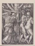 Albrecht Dürer (1471–1528): 'The Expulsion from Paradise' (1520), woodcut