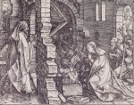 Albrecht Dürer (1471–1528): detail from 'The Birth of Christ' (1504), engraving