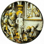 Private collection, Germany: 'Flagellation of Christ', southern Low Countries, c.1510