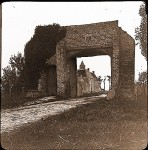 Fig. 3. Historical photograph of Dunes Abbey gateway