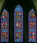 Fig. 3. Lincoln Cathedral, south-east transept: lancets by George Hedgeland. ©G. Plumb
